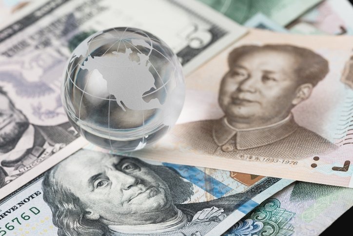 U.S. and China currency